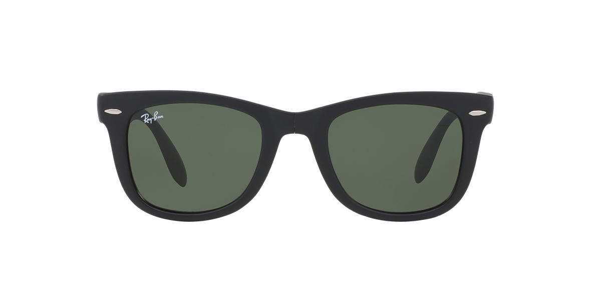 15cac36420 Ray-Ban RB4105 Wayfarer Folding 50mm (Matte Black) Plastic Frame